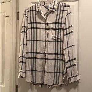 Old Navy perfect plaid shirt!